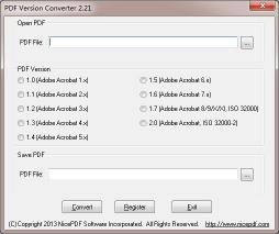 Download PDF Version Converter