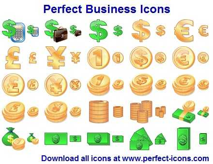 Download Perfect Business Icons