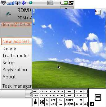 RDM+ Remote Desktop for Java and Symbian for Mobile