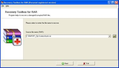Download Recovery Toolbox for RAR