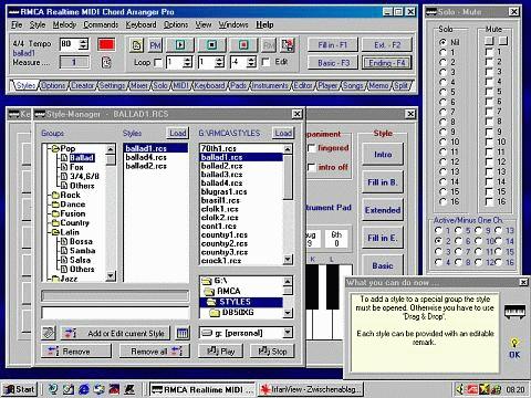 RMCA Realtime MIDI Chord Arranger Pro ...