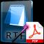 RTF To PDF Converter Software