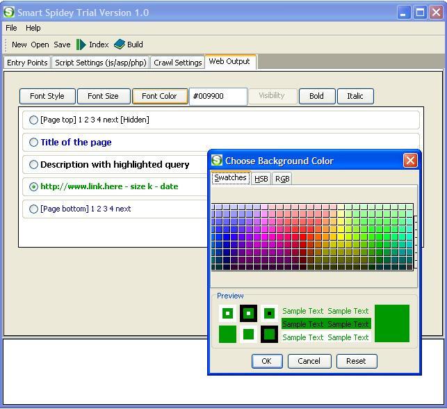 Smart Spidey Regular Search Engine Maker