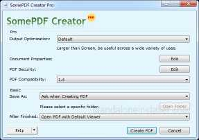 SomePDF Creator