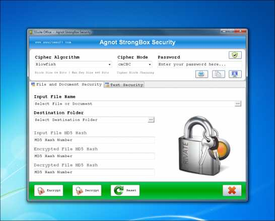 SSuite Agnot StrongBox Security