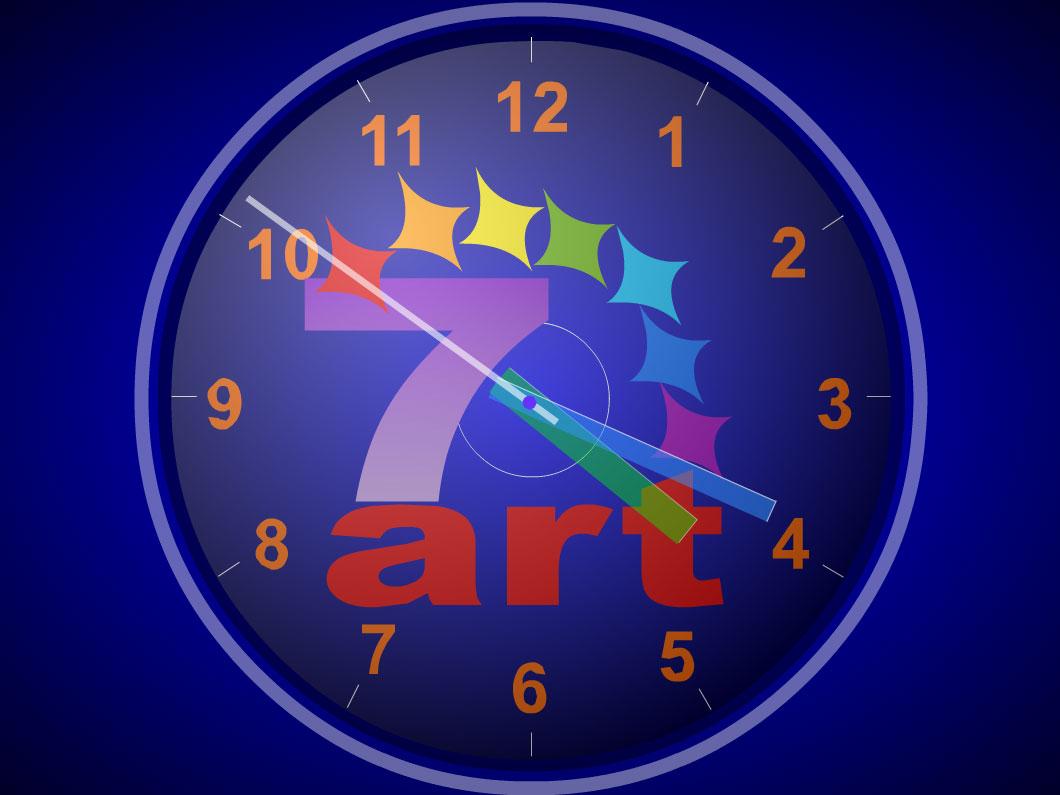 Standard Clock ScreenSaver - standaloneinstaller.com