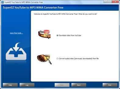 SuperEZ YouTube to MP3 WMA Converter