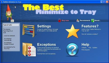 Download TheBest Tray Minimizer