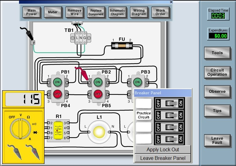 Electrical Circuit Sim - Wiring Diagram For Light Switch •