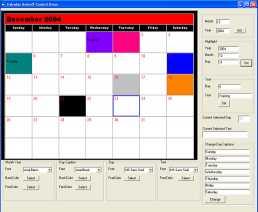 Download VISCOM Calendar ActiveX Control SDK