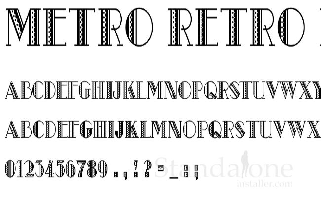 Metro Retro NF