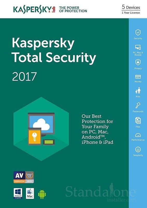 Kaspersky Total Secuirty 2017