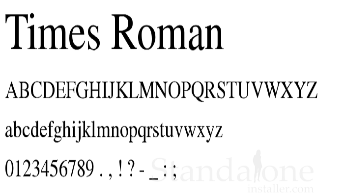 Times New Roman Is The Most Popular Fonts Out There. This Universally  Recognized Typeface Is Still One Of The Most Popular Résumé Font Choice.  Popular Resume Fonts