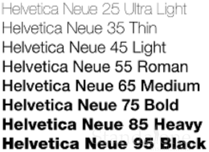 Helvetica Is A Modern And Clean Sans Serif Font Which Can Be Used To Give A  Great Look To Your Resume And Impress Your Employer.  Resume Best Font