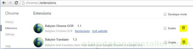 chrome-uninstall-extensions