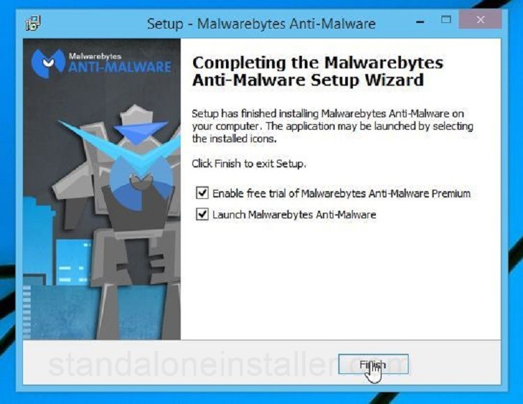 Malwarebytes Finish