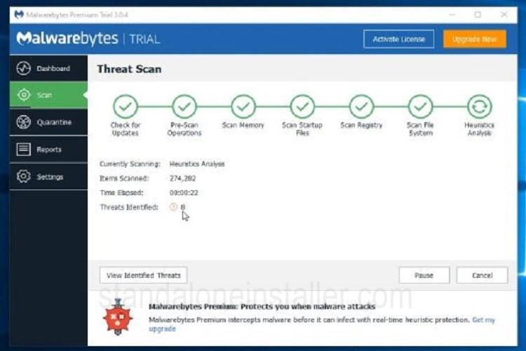 Malwarebytes Hijacker