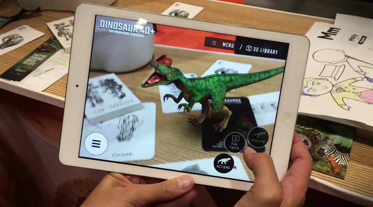 Integration of Augmented Reality into utility apps
