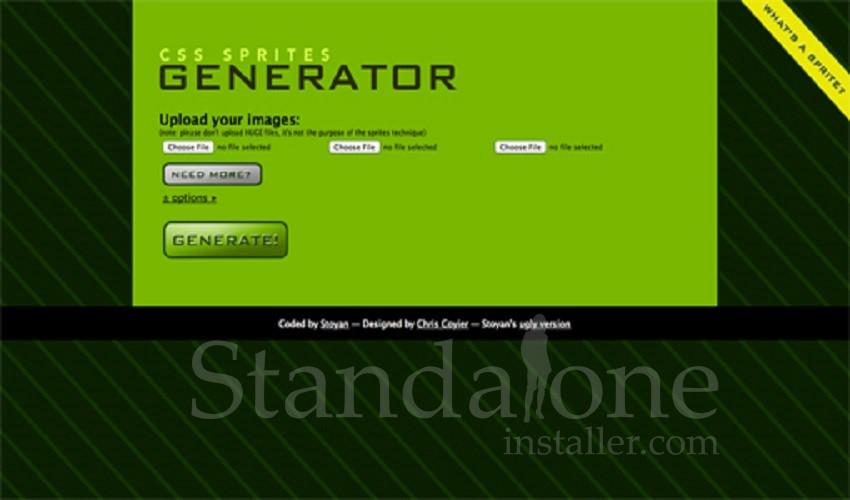 CSS Sprite Generator