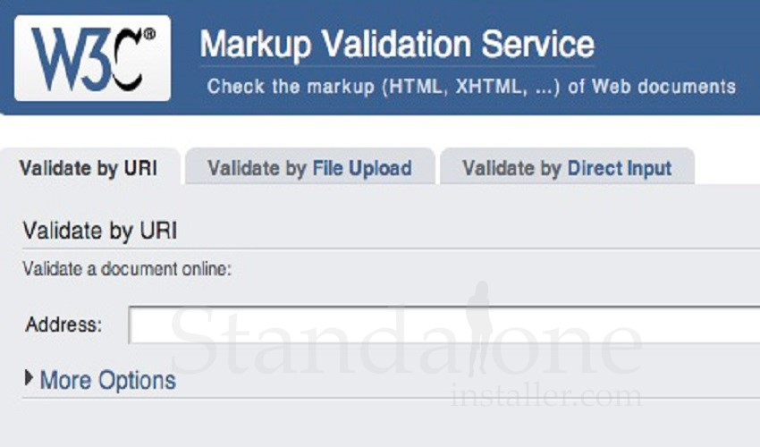 W3c Markup Validation Service