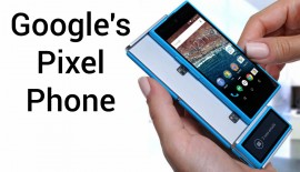 Google setting the stage prior to the launch of Pixel Phone