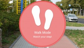 Walk Mode app by Samsung