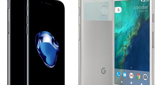 The Pixel vs iPhone 7 speed tests – who is the leader?
