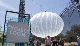 Google's Project Loon kept one balloon floating in the air for 98 days!