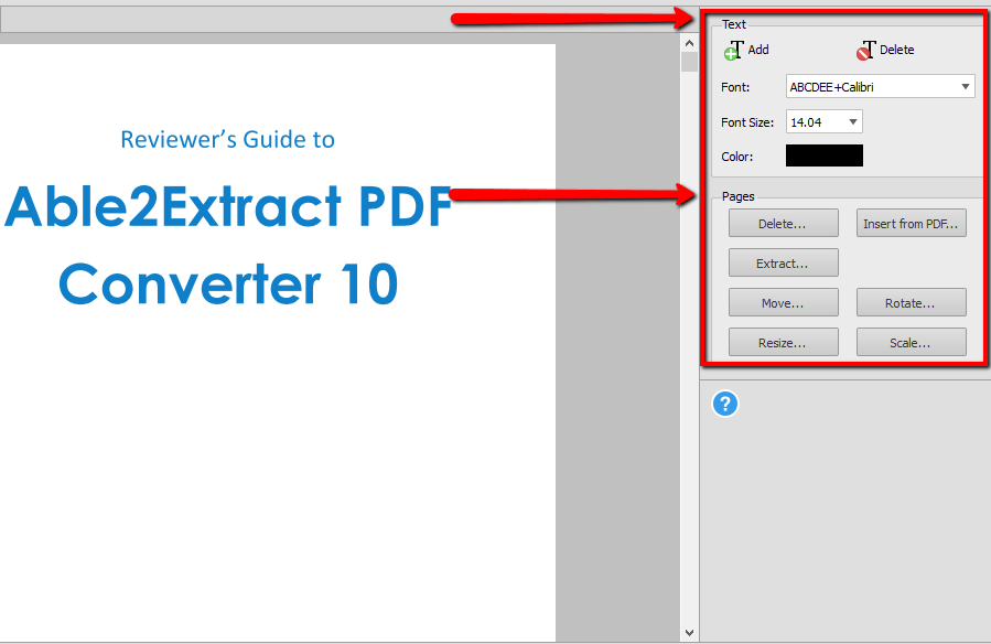 Able2Extract pdf properties