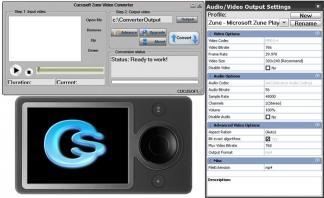 Download #1 Zune Video Converter