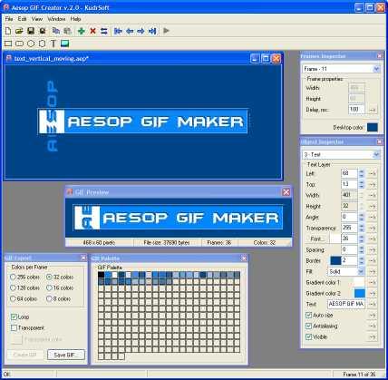 Download ! Aesop GIF Creator