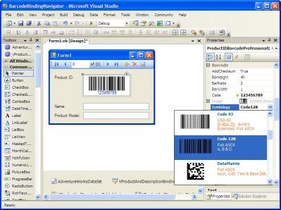 Download .NET Barcode Professional