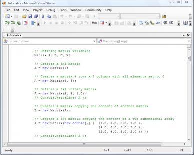 Download .NET Matrix Library 64-bit Developer