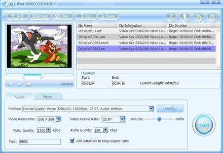 Download 007 iPod Video Converter
