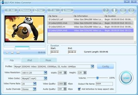Download 007 PDA Video Converter