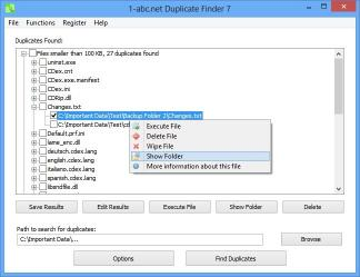 Download 1-abc.net Duplicate Finder