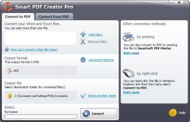 Download #1 Smart PDF Creator Pro