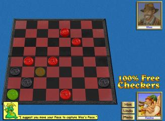 Download 100% Free Checkers