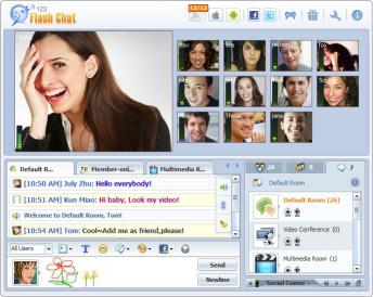 Download 123 Flash Chat Software (Mac)