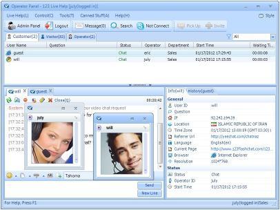 Download 123 Live Help Server Software