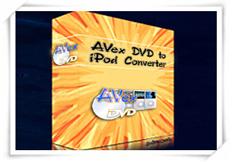 1st Avex DVD to iPod Converter