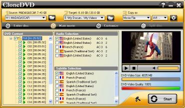 Download 1st CloneDVD - DVD Copy software
