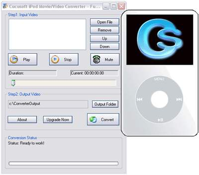 1st Cucusoft iPod Movie/Video Converter