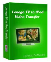 1st Lenogo TV to iPod Video Transfer