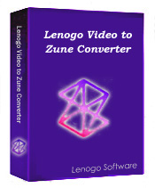 1st Lenogo Video to Zune Converter
