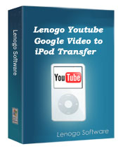 1st lenogo youtube/google video to ipod