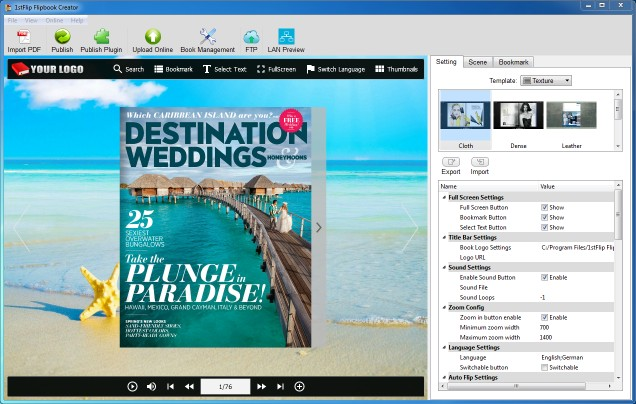 Download 1stFlip Flipbook Creator for Windows