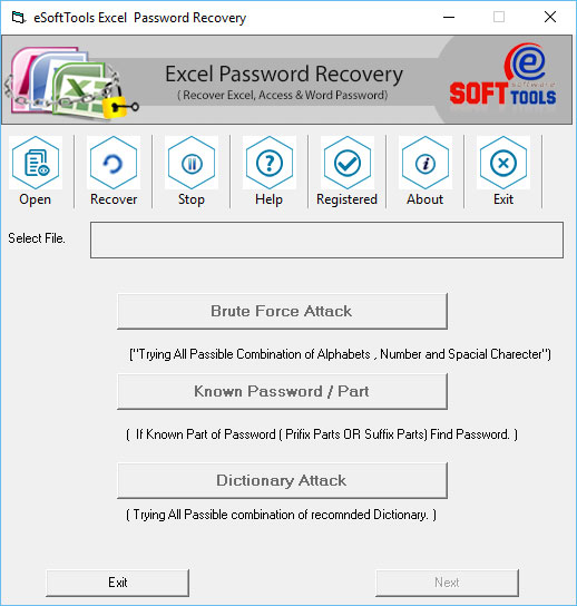 2010 Excel File Password Recovery