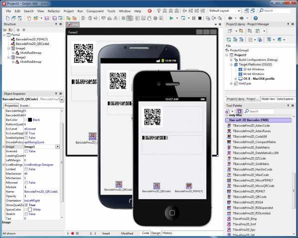 2D Barcode FMX Components