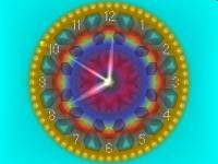 Download 2D Gold Clock Screensaver